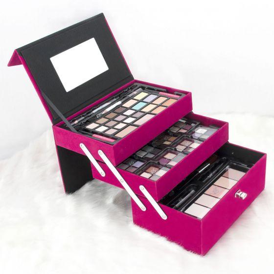 pink velvet makeup set